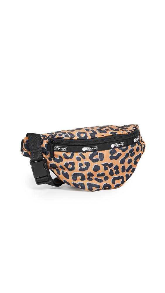 LeSportsac Carlin Belt Bag in leopard