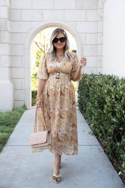 suburban faux-pas blogger sunglasses dress tank top bag shoes chanel bag midi dress sandals