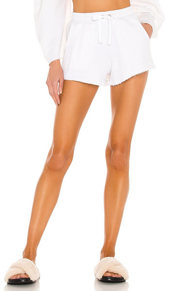 Lovers + Friends Lovers + Friends Everyday Terry Shorts in White