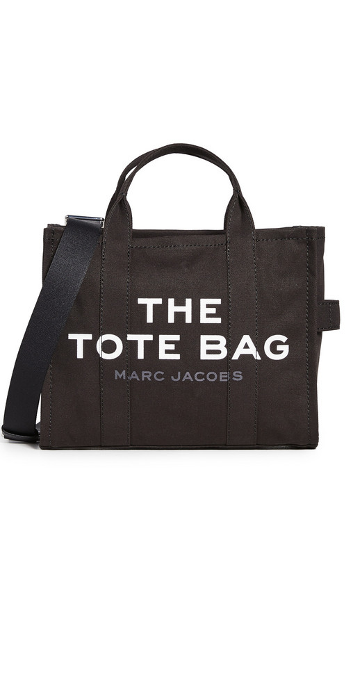 The Marc Jacobs Small Traveler Tote in black