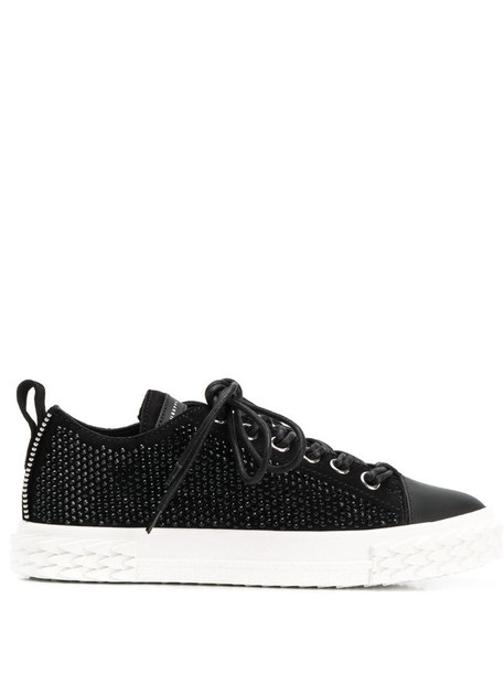 Giuseppe Zanotti studded low top trainers in black
