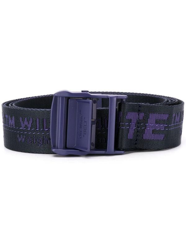 Off-White Industrial belt in purple