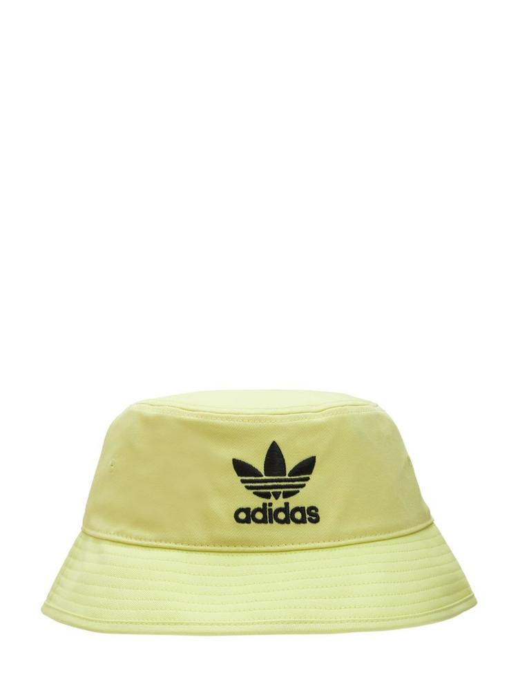ADIDAS ORIGINALS Bucket Hat in yellow