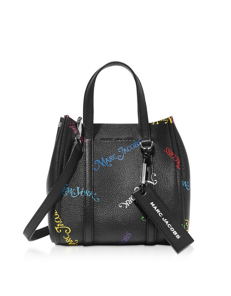 Marc Jacobs New York Mag The Tag Tote 21 in black