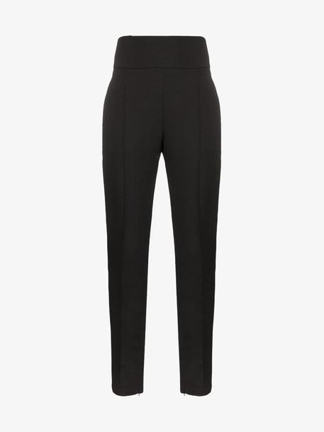 Alexandre Vauthier high waist tuxedo trousers in black