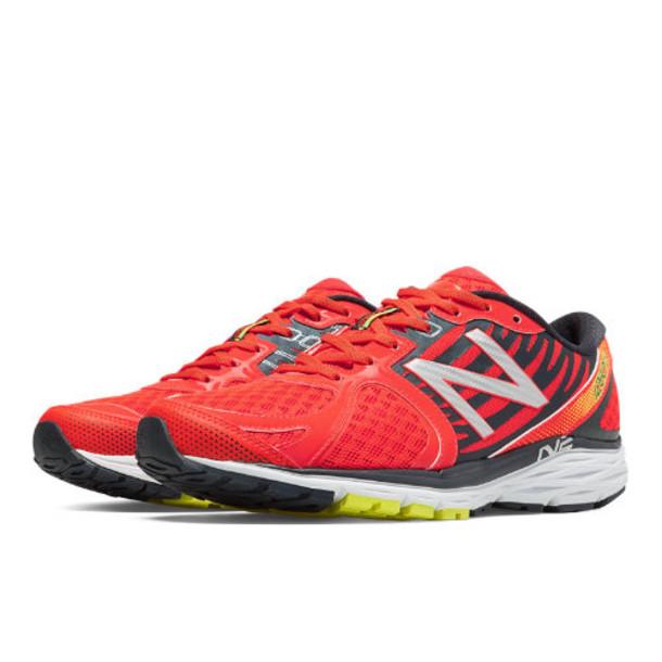 New Balance 1260v5 Men's Distance Shoes - Grey/Orange (M1260GO5)