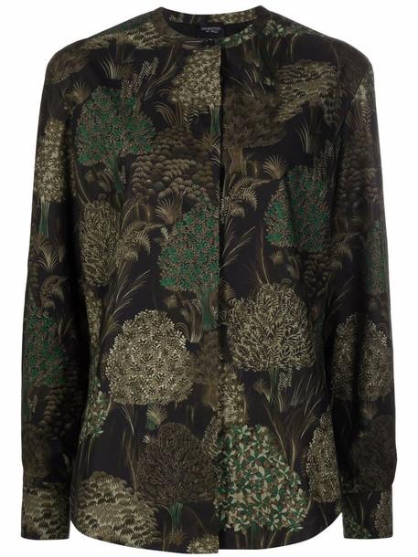 Giambattista Valli botanical-print blouse - Green