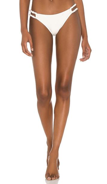 Shani Shemer Vanilla Toki Bikini Bottom in Cream in white