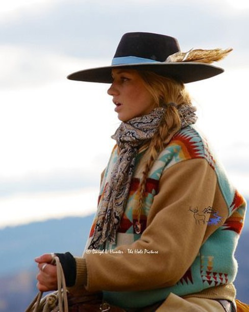 coat multicolor sweatshirt country western top country