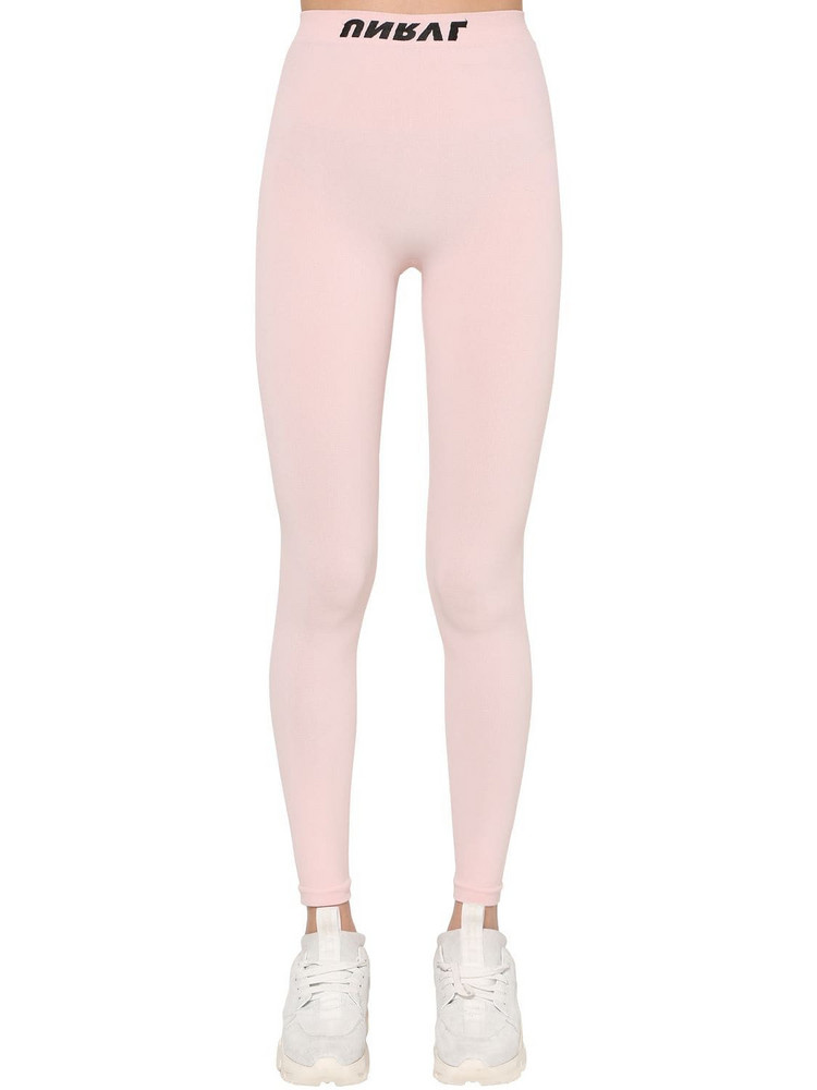 UNRAVEL Technical Seamless Stretch Leggings in pink