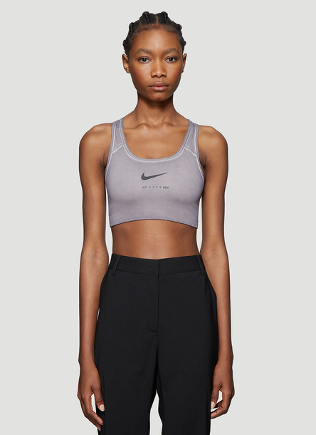 1017 ALYX 9SM X Nike Sports Bra in Grey size M