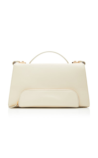 Brandon Maxwell Large Doctor Bag in white