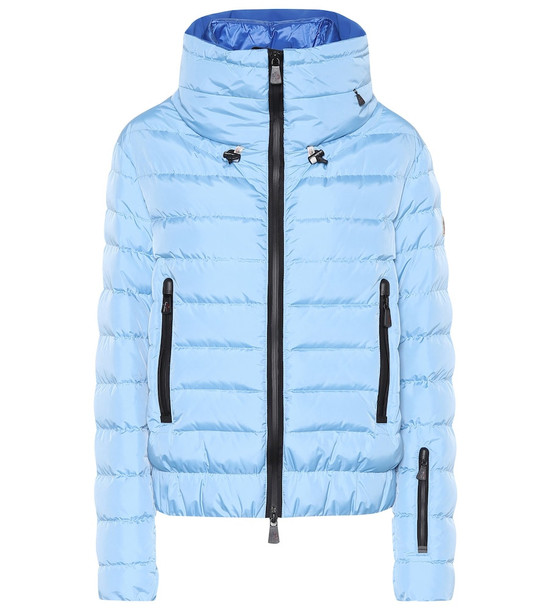 Moncler Grenoble Vonne quilted down jacket in blue