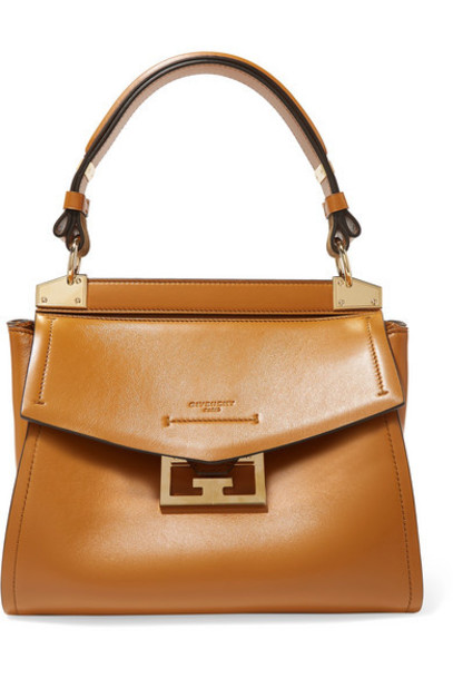 Givenchy - Mystic Small Leather Tote - Camel