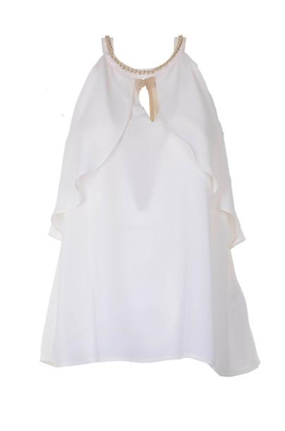 Liu-jo Top in bianco