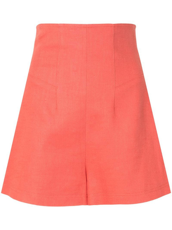 Alexis Camby tailored shorts in orange
