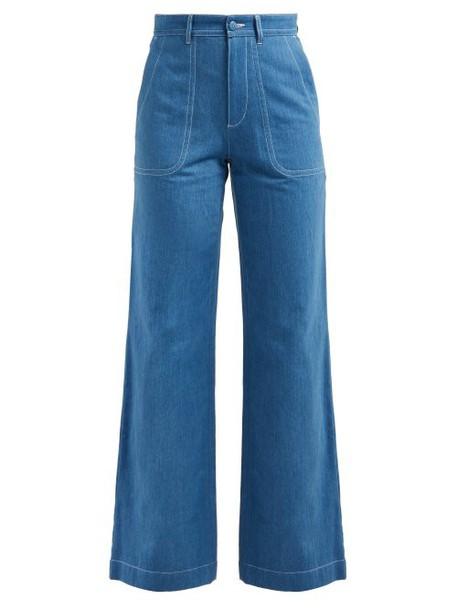 A.P.C. A.p.c. - Seaside Straight Leg Jeans - Womens - Indigo