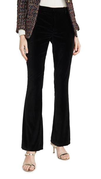 alice + olivia alice + olivia Hayley Bootcut Pants in black