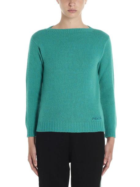 Prada Sweater in green