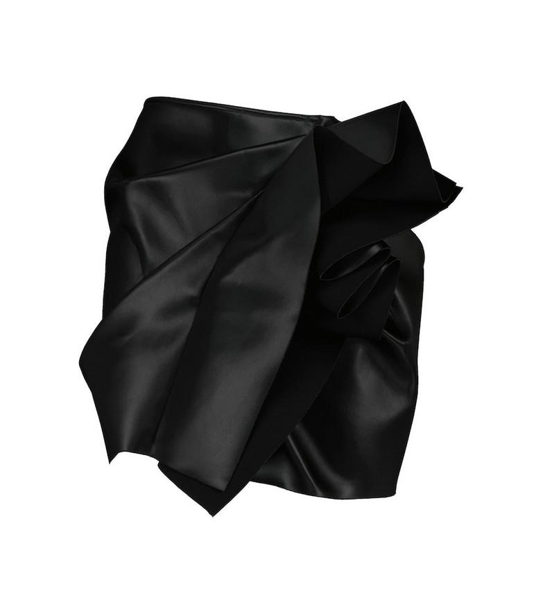 Rick Owens Ruffled miniskirt in black