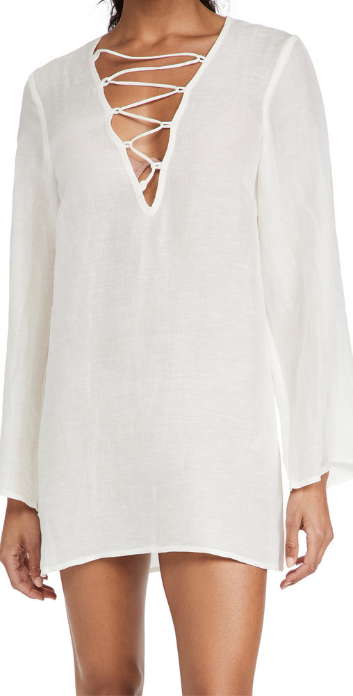 Cult Gaia Naomi Cover Up in white