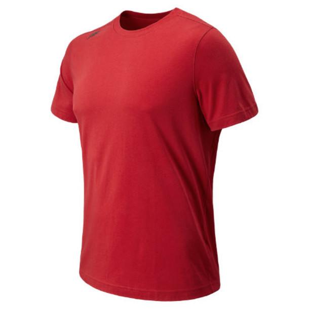 New Balance 4171 Men's NB Cross Run Tee - Chinese Red (MFT4171CED)