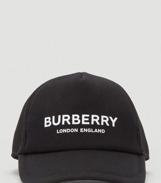 Burberry Hats Women - Logo Baseball Cap Black 100% Modal. M