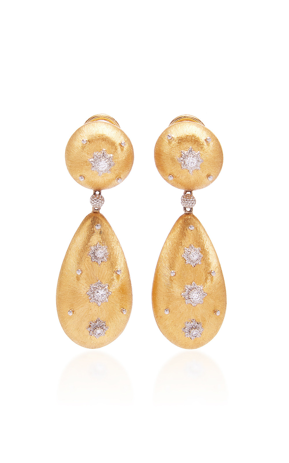 Buccellati Macri Pendant Earrings in gold