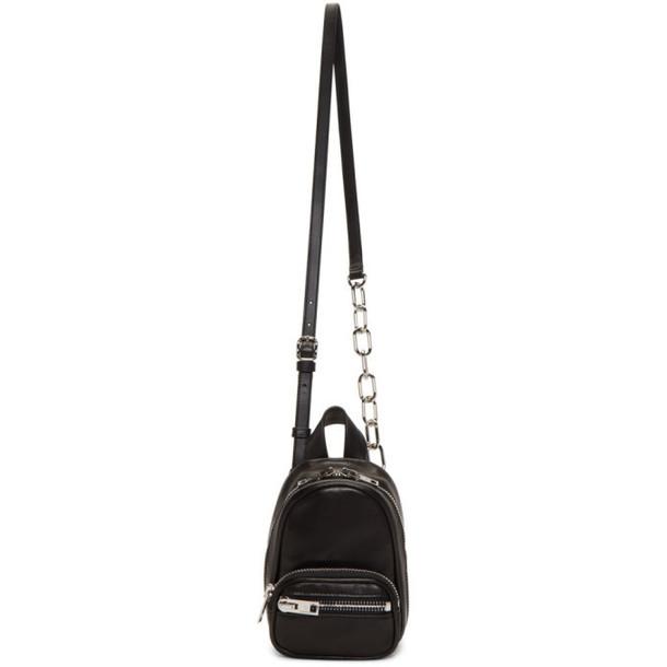 Alexander Wang Black Mini Attica Backpack