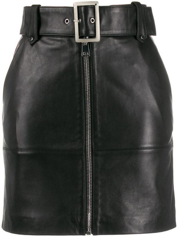 Pinko high-waisted skirt in black