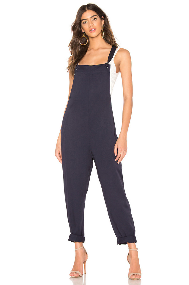 BCBGeneration Overall Jumpsuit in navy