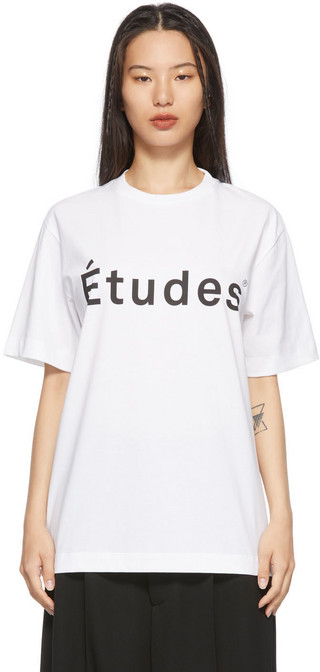 Études Études White Wonder 'Études' T-Shirt