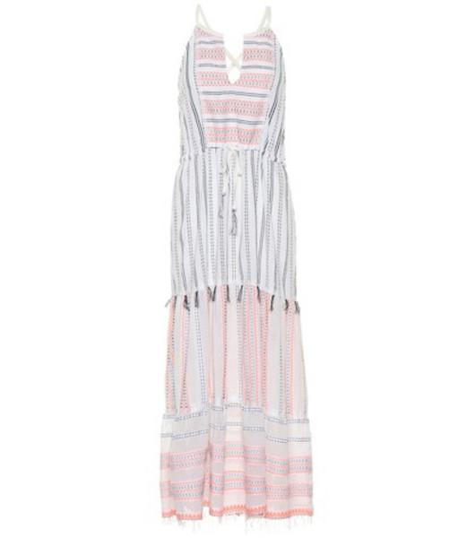 Lemlem Zenha cotton-blend midi dress