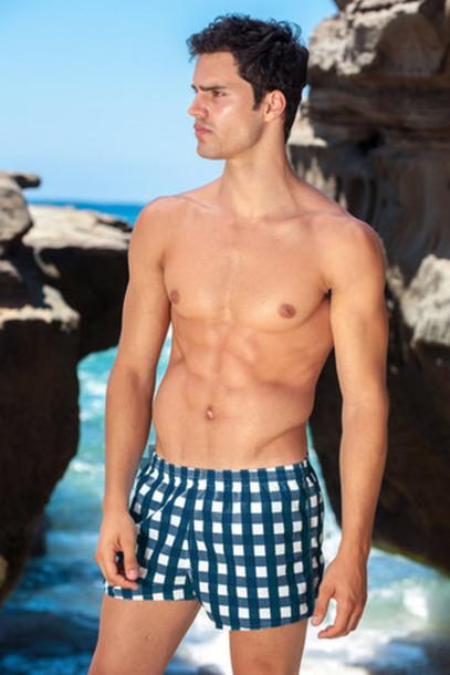 swimwear mens swimwear sauvage swim trunks navy