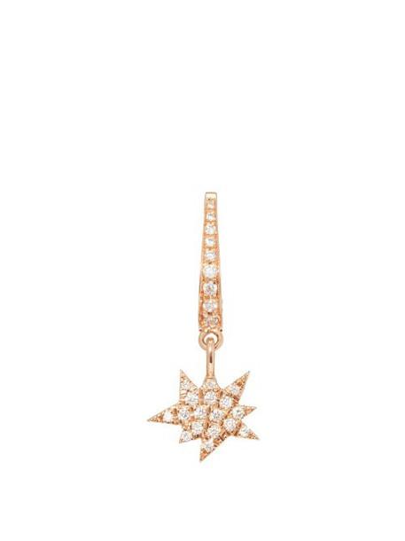 Diane Kordas - Explosion Charm 18kt Rose Gold Single Earring - Womens - Gold