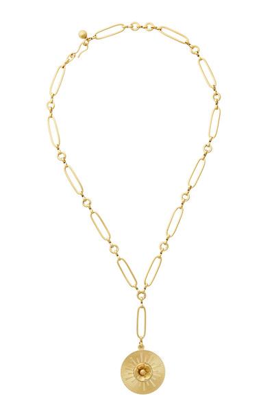 Brinker & Eliza Sunshine & Lemonade 24K Gold-Plated Necklace