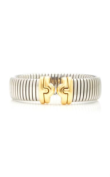 Eleuteri Vintage Bulgari Tubogas Bracelet in gold