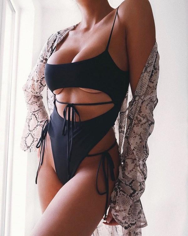 swimwear black swimwear