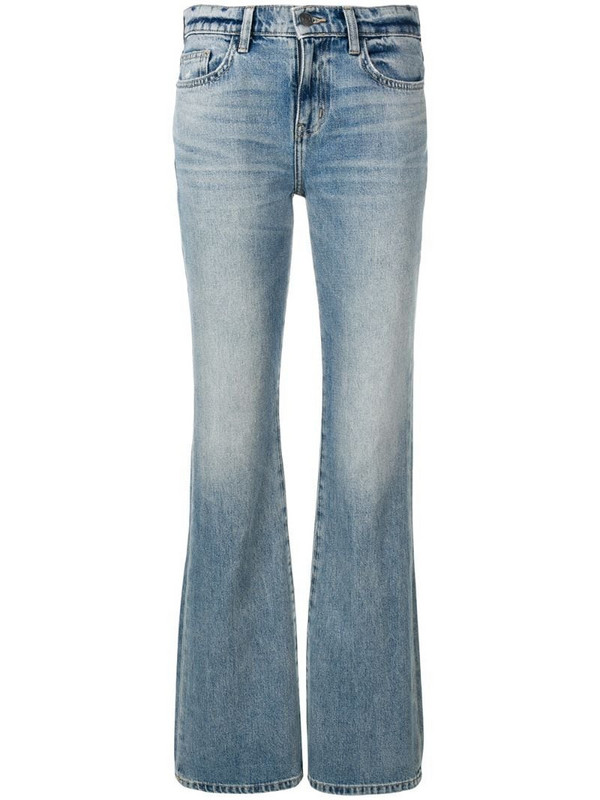 Current/Elliott classic bootcut jeans in blue