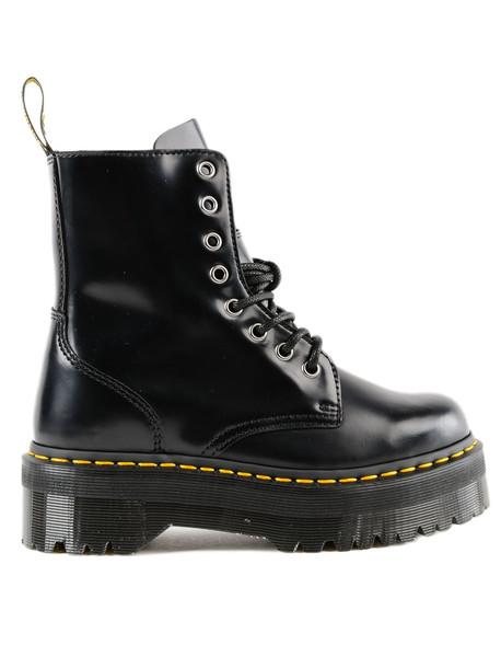 Dr. Martens Dr Martens Jadon Platform Laced-up Boots in black