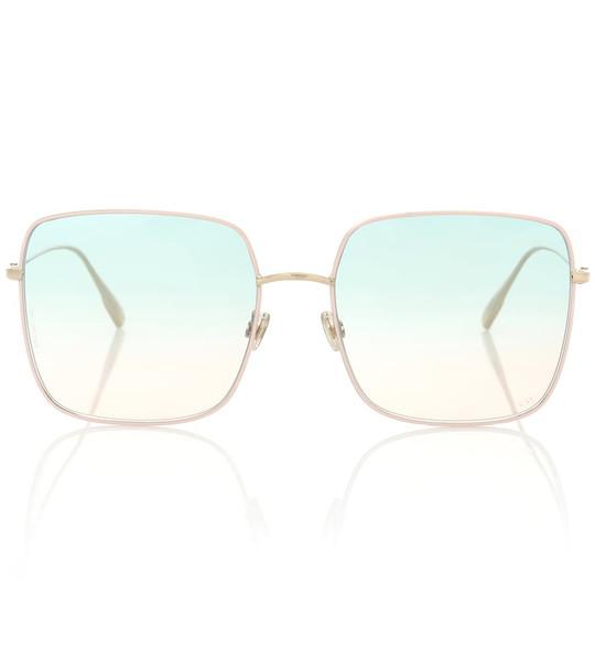 Dior Sunglasses DiorStellaire1 square sunglasses in pink