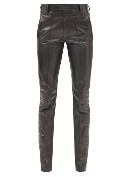 Petar Petrov - Glory Leather Trousers - Womens - Black