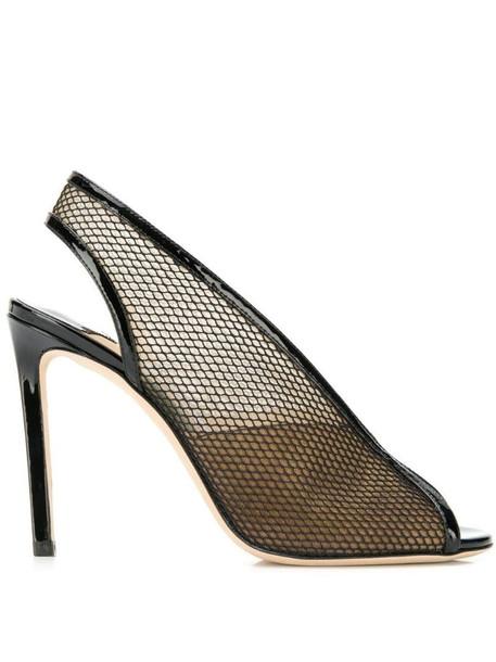 Jimmy Choo Shar 100 sandals in black