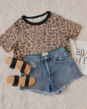 shorts,shoes,top