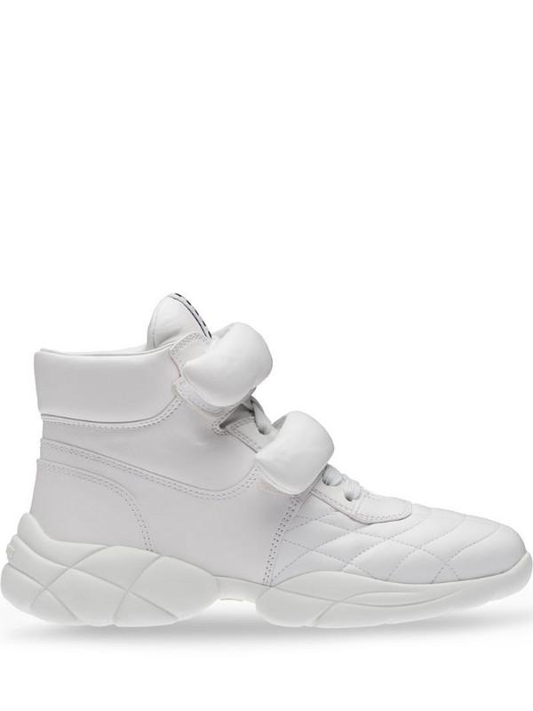 Miu Miu high-top sneakers in white
