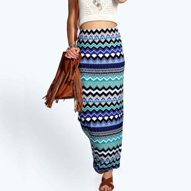 skirt bodycon skirt striped dress full print skirt maxi skirt high waist skirts package hip