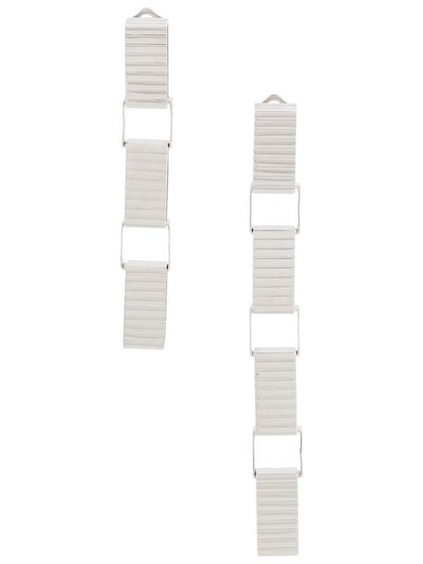IVI Signore 10 Chain drop earrings in silver