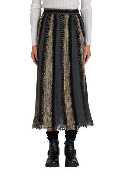 M Missoni Knit Midi Skirt in multi