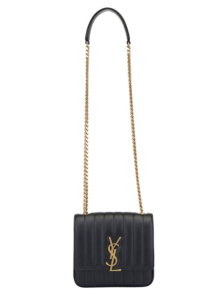 Saint Laurent Shoulder Bag in nero