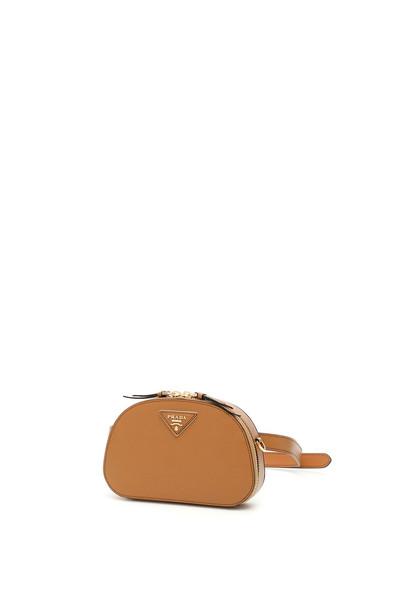 Prada Odette Mini Belt Bag in beige